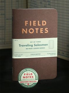 Field Notes Traveling Salesman Edition