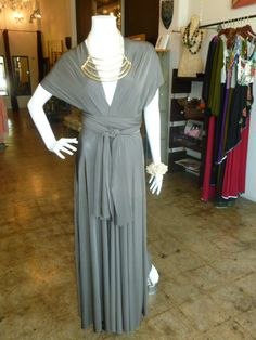 Infinity dress with sleeves!