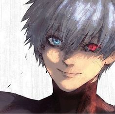 Awh! Kaneki is finally smiling. Thank you to whoever made this. :')
