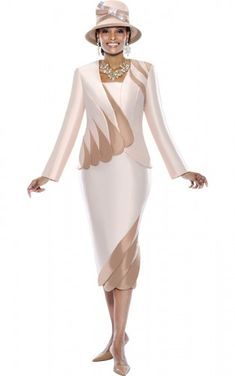 Church Suit Stunning Silk Look by Terramina