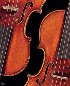 """TitleWhich Is WhichArtistEndre BaloghMediumPhotographDescriptionOne of these is Stradivarius I got a rare chance to photograph, while the other is a magnificent exact """"bench"""" copy of it made by the excellent violin makers Joseph Curtin and Greg Alf.UploadedDecember 5th, 2011"""