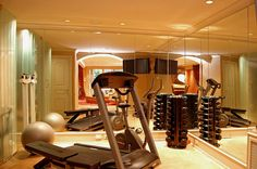 Interior Designs Alluring Home Workout Room Ideas With