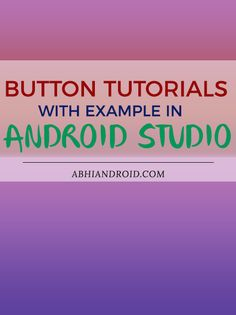 In Android, Button represents a push button. A Push buttons can be clicked, or pressed by the user to perform an action. There are different types of buttons used in android such as CompoundButton, ToggleButton, RadioButton.