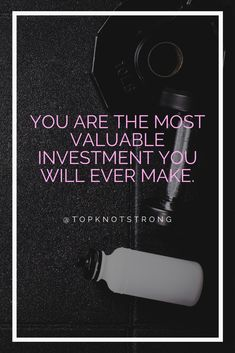 You are the most valuable investment you will ever make. You only get one body in your life so invest wisely. Bodybuilding Motivation Quotes, Fitness Motivation Quotes, Bikini Competitor, Top Knot, Apple Tv, Investing, Motivational Quotes, Life, High Bun