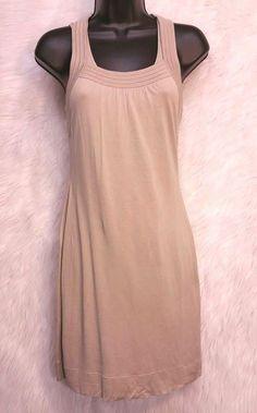 Banana Republic Women's XS Sleeveless Dress Summer Sun Silk Linen #C #BananaRepublic #Casual
