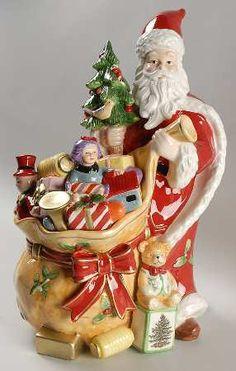 Santa Cookie jars