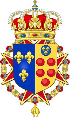 Royal Coat of Arms of Etruria Royal Family Trees, Coat Of Arms, Flags, Crime, Nerd, Banner, Africa, Product Launch, King