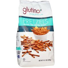 Gluten Free Snacks With $1.00 Off Glutino Pretzels Or Cookies!