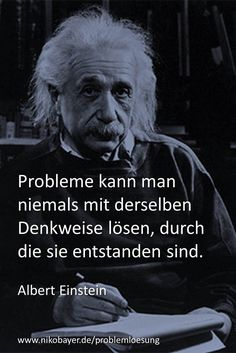 Vom Problem zur Lösung - Praxis-Training von und mit Niko Bayer The possibilities lie in the middle of difficulties. Quote from Albert Einstein. From problem to solution - practical training by and with Niko Bayer Zitate Citations D'albert Einstein, Citation Einstein, Albert Einstein Quotes, Vie Positive, Motivational Quotes, Inspirational Quotes, Lyric Quotes, Quotes Quotes, Quotation Marks