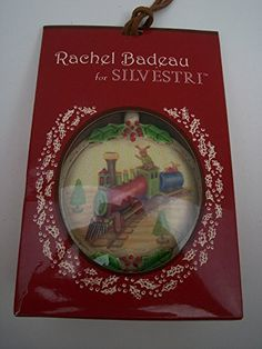 Lovely, artistic, collectible unique Christmas ornaments! Rabbits on the Christmas Train Ornament, Rachel Badeau for Silvestri, 2.5 x 2.5 inches Demdaco http://www.amazon.com/dp/B015F15ZNK/ref=cm_sw_r_pi_dp_1o5owb055PMSJ