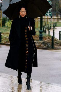 Street Style París Fashion Week Otoño Invierno 2016 | Galería de fotos 6 de 204 | VOGUE