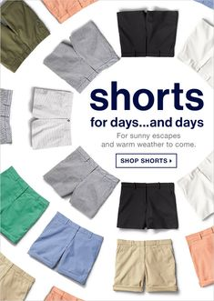 GAP: shorts for days...and days | SHOP SHORTS