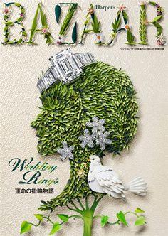 paper artist Jo Lynn Alcorn | Harpers Bazaar Japan