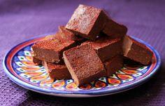 Mexican Spice Adzuki Bean Fudge (gluten-free, dairy-free, cane sugar-free, low sugar)