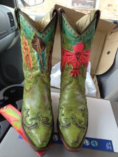 hand painted custom boots!