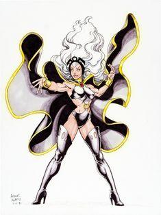 Arthur Adams - Storm Comic Art