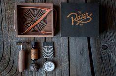 The #Razor #Kit, by #HarvestBeard. #ShaveOil #Blades