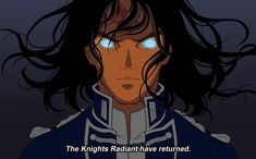 Kaladin from Stormlight Archive (I'm learning to use SAI) Anime Style Test: Kaladin Kaladin Stormblessed, Brandon Sanderson Stormlight Archive, The Way Of Kings, Japan Architecture, Fantasy Warrior, Book Fandoms, Book Characters, Girl Humor, Anime Style