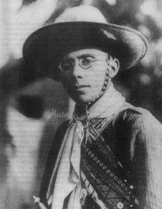 Virgulino Ferreira, conhecido como Lampião – o líder dos cangaceiros.