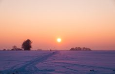 A Winter Evening Take That, Cold, Celestial, Sunset, Winter, Outdoor, Winter Time, Outdoors, Sunsets