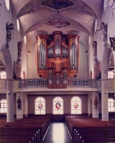 Sursee - Stadtkirche St. Georg graf-orgelbau.ch