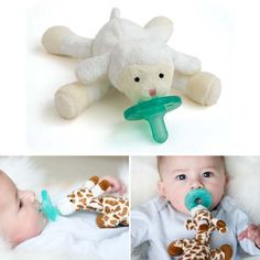 One of my best friends suggested the WubbaNub pacifiers ($13-$15) to me when my daughter was born, and it has since become one of my favorite baby shower gifts to give. Not only do the attached stuffed animals look cute, but they also act as a weight, which means you'll be popping that paci back in a lot less.  — Kate Stahl, contributing editor