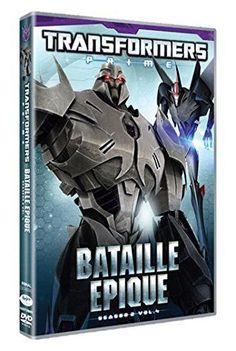 Transformers prime : bataille épique, saison 2, vol.4 | SERIE TV | DVD - NEUF