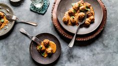 Meatballs with almond & saffron sauce | Tapas recipes | SBS Food