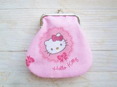 Kiss lock coin purse small wallet pouch metal frame by poppyshome