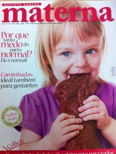 Capa da edição 10 da revista sempre materna