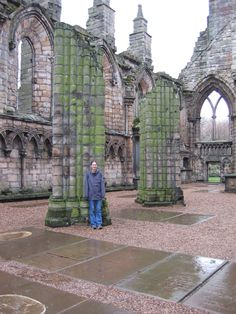 Holyrood Abbey  (Photo Credit to Derek Schmidt 2004)
