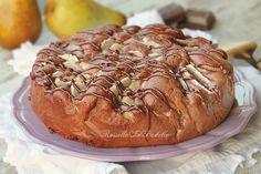 Torta pere cioccolato e mascarpone