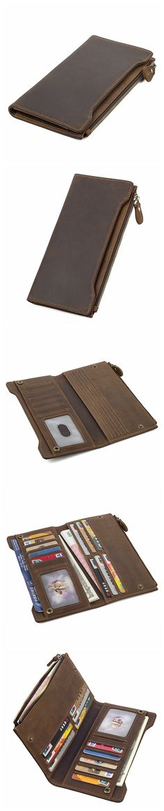 Handmade Leather Wallet, Mens Wallet And Card Holder Wallet Cryptocurrency Wallet Rfid Man Short Wallet 8168 Model Dimensions: x / x Weight: lb / kg Color: Dark Brown Features: Handmade Leather Wallet, Leather Wallets, Cryptocurrency, Zip Around Wallet, Card Holder, Brown, Men, Rolodex, Leather Purses