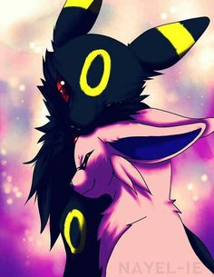 Umbreon and Espeon are so cute!!