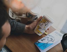 Coffee and People cafe branding