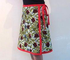Women's African Batik Skirt