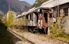 Canfranc's Massive Abandoned Railway Station in the Spanish Pyrenees