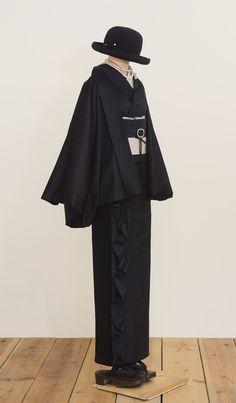Kimono Fabric, Kimono Dress, Japanese Outfits, Japanese Fashion, Modern Kimono, Modern Japanese Clothing, Kimono Fashion, Fashion Outfits, Japanese Hairstyle
