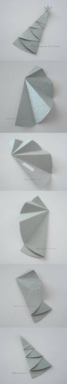 DIY Foldable Christmas Tree by ^ kristen ^