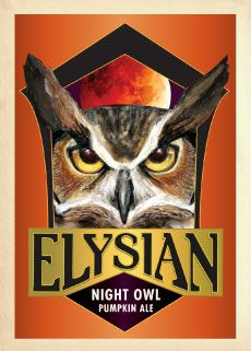 If you are in Seattle in October, go to the Elysian Pumpkin Beer Festival. Get tickets early! This is a great pumpkin brew. Not too sweet, nice balance of spice.