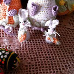 Coniglietto uncinetto Easter's bunny