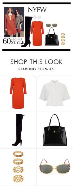 """""""70's"""" by vyera ❤ liked on Polyvore featuring Fenn Wright Manson, See by Chloé, T By Alexander Wang, Stuart Weitzman, Vivienne Westwood, Forever 21, Christian Dior and seventiesfashion"""