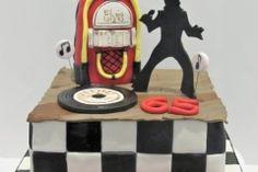 Elvis Presley Themed Cake