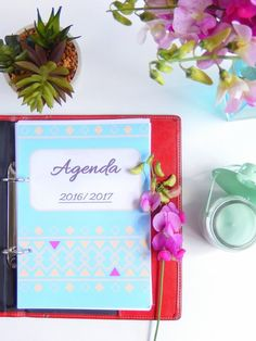 agenda 2016 / 2017 format a5 à imprimer gratuitement 1 2017 Planner, Agenda Planner, Free Planner, Printable Planner, Free Printable, Planner Organisation, Organization Bullet Journal, Filofax, Diy Agenda