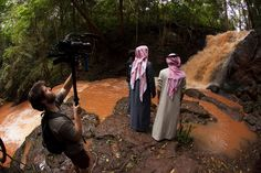 Chief Nyamweya took us to a local waterfall, deep in the jungle trails. @wildpeeta @peymanparham