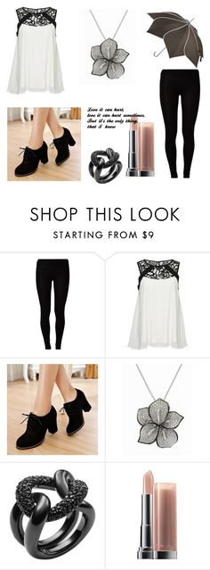 """Hurt"" by ceaslessmelody ❤ liked on Polyvore featuring Majestic, ONLY, Pangmama, Effy Jewelry, Michael Kors and Maybelline"