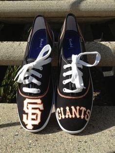 SF Giants Toms by www.Facebook.com/KicksByClutch