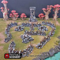 DnD Tabletop Warhammer Pathfinder Chaos De 15mm Terrain Details about  /Sacrificial Altar 28mm