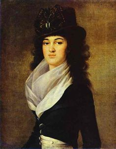 ANNE LOPUKHINA, mistress of Pavel I of Russia, son of Catherine The Great. She was of the same noble family as the first wife of Peter The Great. Pavel met her at the grand ball and fall in love with her madly. Anne did not like the position of mistress and never used Pavel's love for her wealth. Known that Pavel found her the husband basing on her feelings but the marriage was not happy: her groom simply used her. After Pavel was killed she left for Italy where died young at the age of 27.