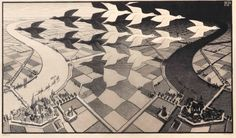 Maurits Cornelis Escher (1898-1972) | Dag en nacht; day and night (B. 303) | 20th Century, Prints & Multiples | Christie's